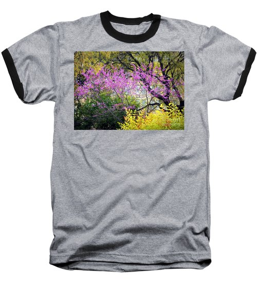 Spring Trees In San Antonio Baseball T-Shirt