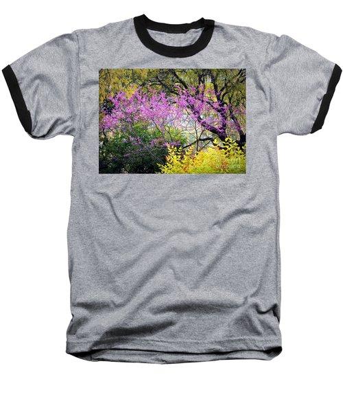 Spring Trees In San Antonio Baseball T-Shirt