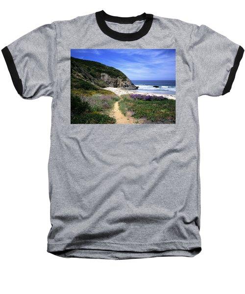 Springtime Trail  Dana Point Headlands Baseball T-Shirt