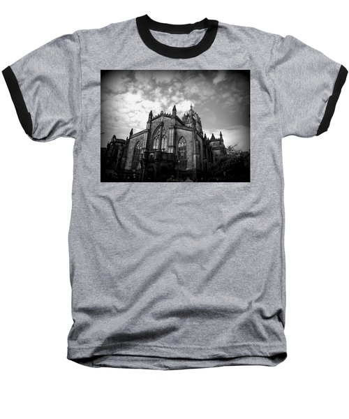 St Giles Cathedral Edinburgh Baseball T-Shirt