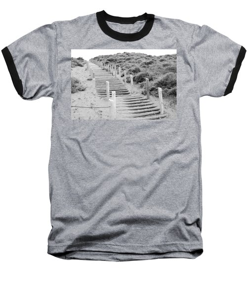 Stairs At Baker Beach Baseball T-Shirt