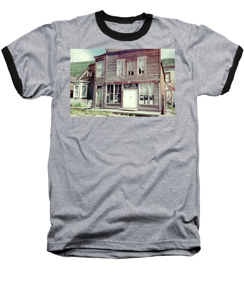 Baseball T-Shirt featuring the photograph Stark Bros Store by Bonfire Photography
