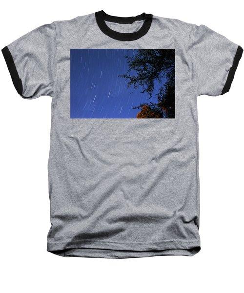 Stars Falling Baseball T-Shirt