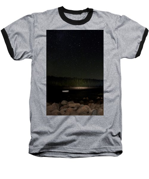Baseball T-Shirt featuring the photograph Stars Over Otter Cove by Brent L Ander