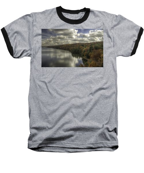 Starved Rock Fall Colors Baseball T-Shirt