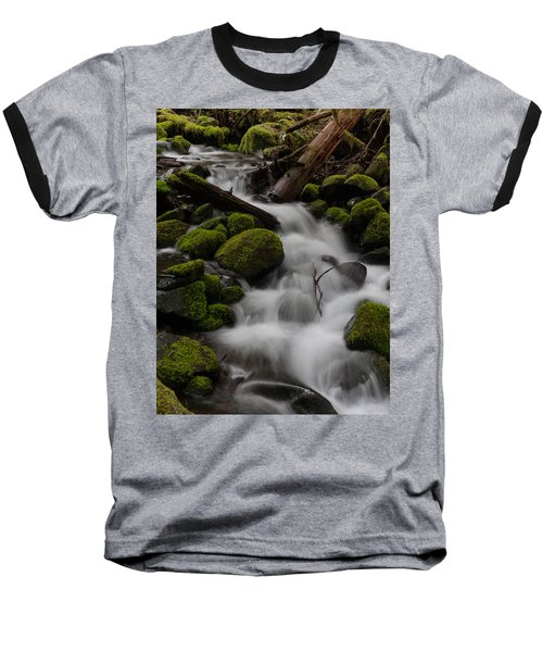 Stepping Stones Baseball T-Shirt by Mike Reid