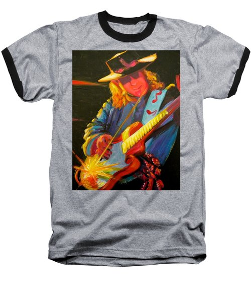 Stevie Ray Vaughn Baseball T-Shirt