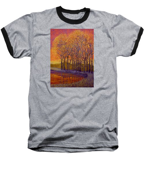 Still Waters Baseball T-Shirt by Jeanette Jarmon