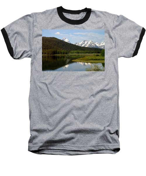 Still Waters Baseball T-Shirt by Living Color Photography Lorraine Lynch