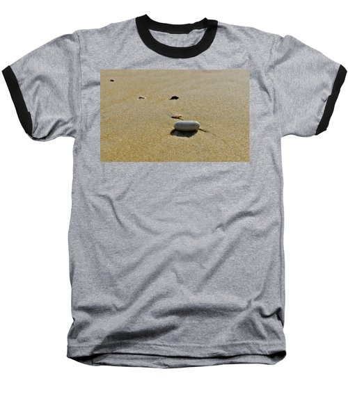 Stones In The Sand Baseball T-Shirt