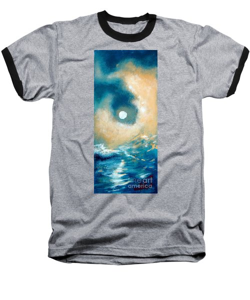 Baseball T-Shirt featuring the painting Storm by Ana Maria Edulescu