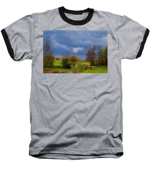 Baseball T-Shirt featuring the photograph Storm Cell by Kathryn Meyer