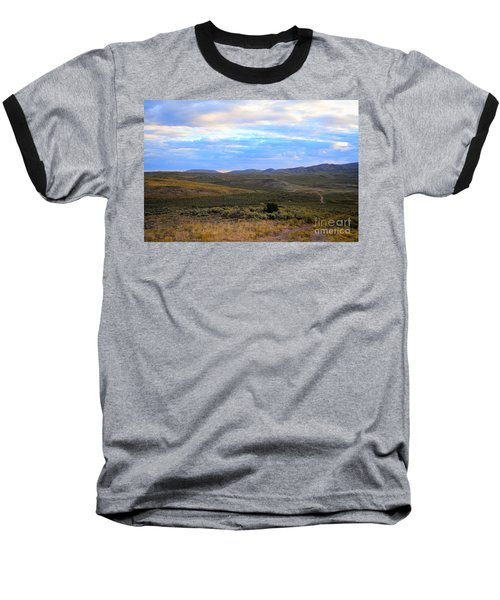 Stormy Wyoming Sunrise I Baseball T-Shirt