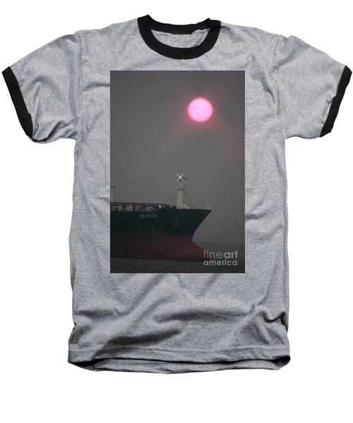Straits Of Verrazano Baseball T-Shirt