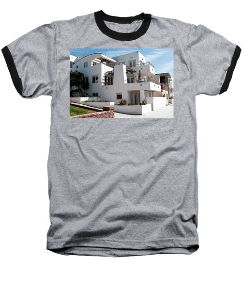 Strand Architecture Manhattan Beach Baseball T-Shirt