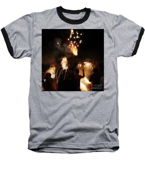 Street Fire Baseball T-Shirt