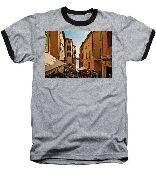 Street In Villefranche II Baseball T-Shirt