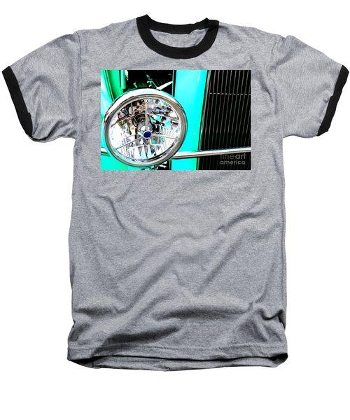 Baseball T-Shirt featuring the digital art Street Rod Beauty by Tony Cooper