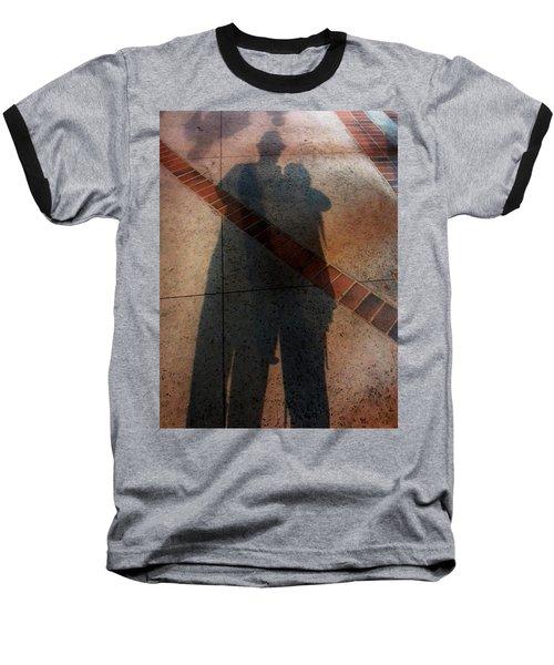 Street Shadows 002 Baseball T-Shirt