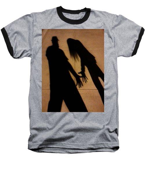 Street Shadows 006 Baseball T-Shirt