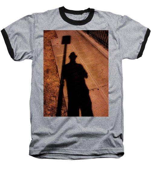 Street Shadows 008 Baseball T-Shirt