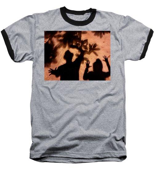Street Shadows 010 Baseball T-Shirt