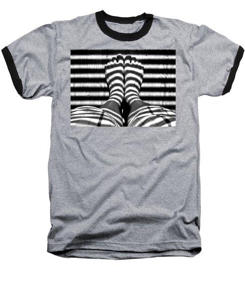 Stripe Socks? Baseball T-Shirt