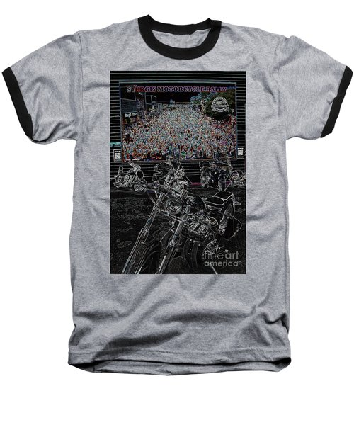 Stugis Motorcycle Rally Baseball T-Shirt