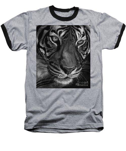 Sumatran Tiger Baseball T-Shirt