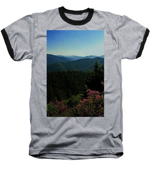 Summer In The Mountains Baseball T-Shirt