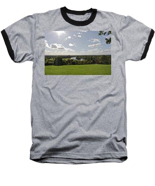 Baseball T-Shirt featuring the photograph Sun Glare by Maj Seda