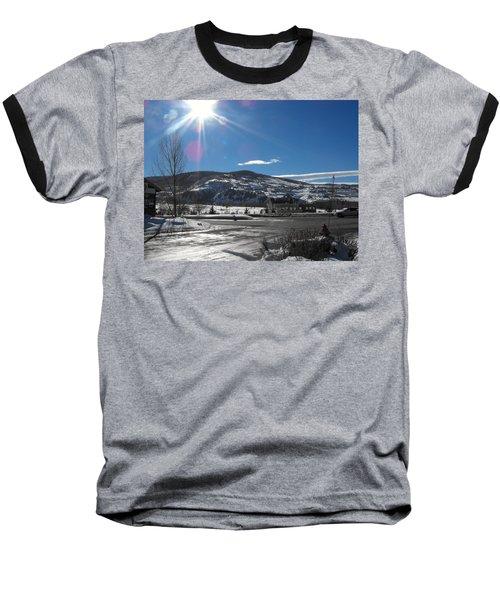 Sun On Ice Baseball T-Shirt