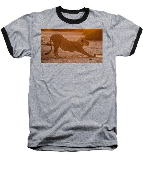Sun Stretch Baseball T-Shirt