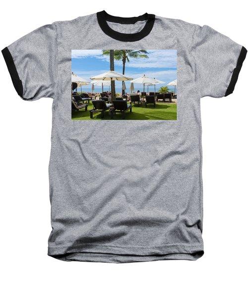 Sunbath Baseball T-Shirt by Atiketta Sangasaeng