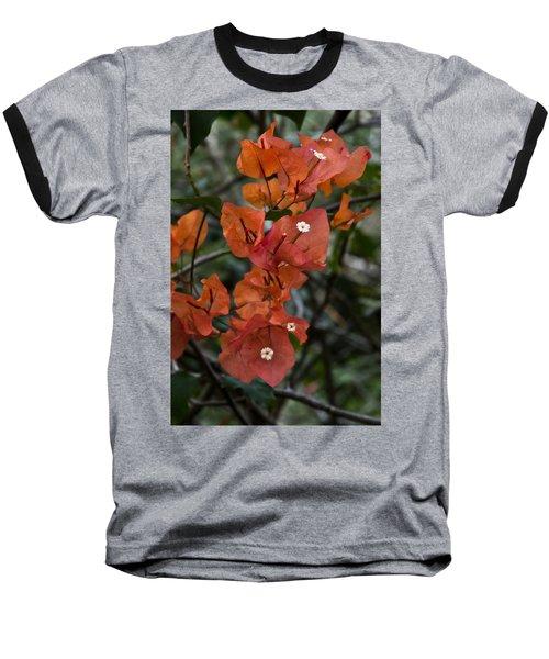 Baseball T-Shirt featuring the photograph Sundown Orange by Steven Sparks