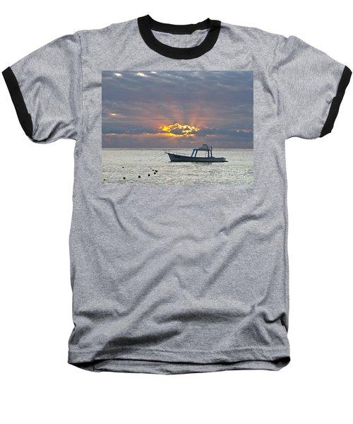 Sunrise - Puerto Morelos Baseball T-Shirt