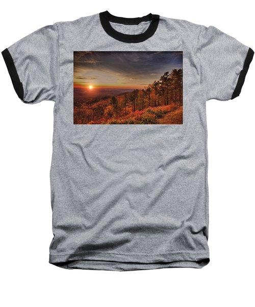 Sunrise 2-talimena Scenic Drive Arkansas Baseball T-Shirt