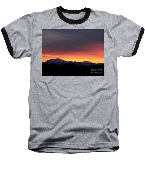 Sunrise 3 Baseball T-Shirt by Chalet Roome-Rigdon