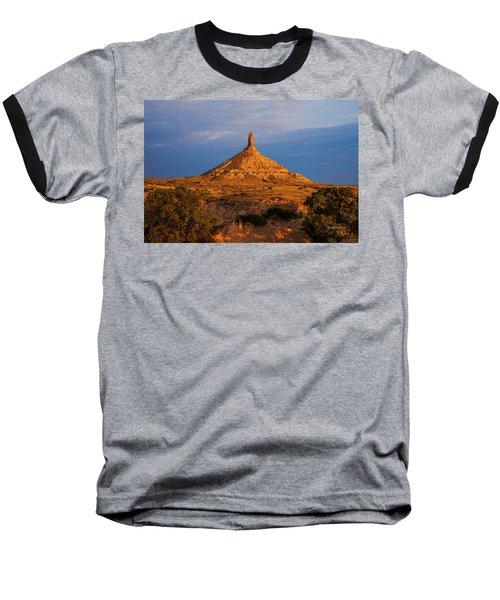 Sunrise At Chimney Rock Baseball T-Shirt
