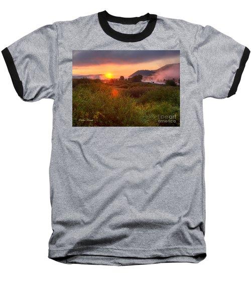 Sunrise At Snake River Baseball T-Shirt