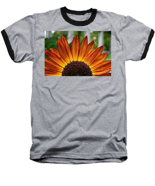 Sunrise Floral Baseball T-Shirt