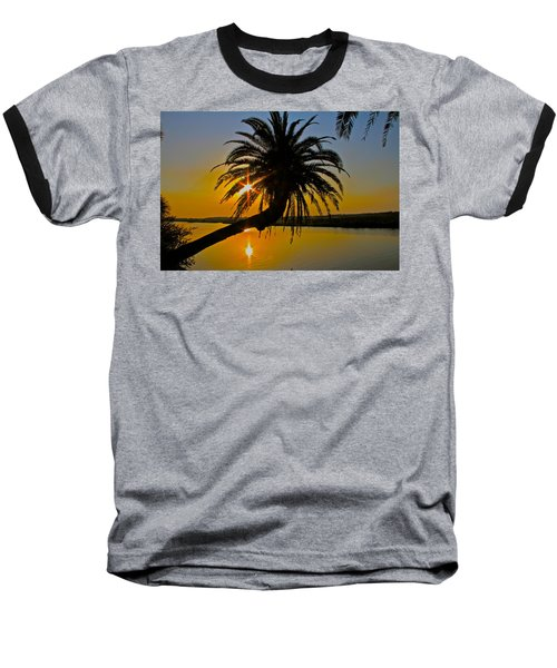 Baseball T-Shirt featuring the photograph Sunrise On The Loop by Alice Gipson