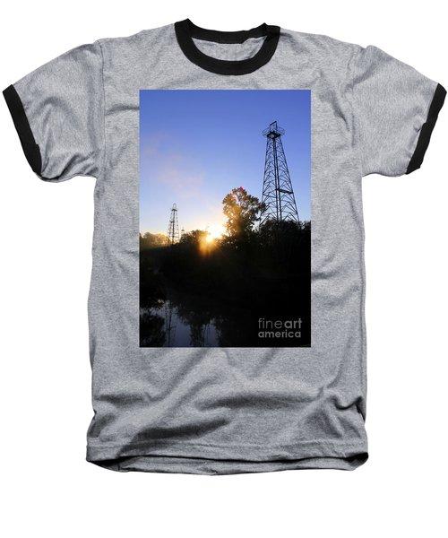 Sunrise On The Sabine Baseball T-Shirt
