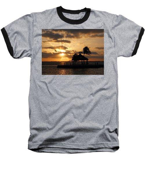 Baseball T-Shirt featuring the photograph Sunrise Over Bay by Clara Sue Beym