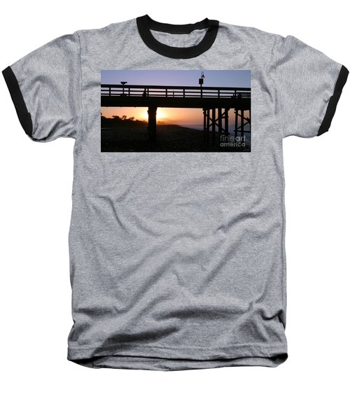 Sunrise Pier Ventura Baseball T-Shirt
