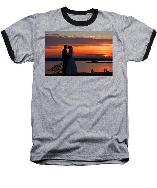 Sunset At Night A Wedding Delight Baseball T-Shirt
