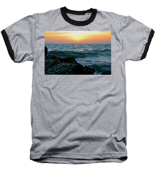 Sunset Captiva Baseball T-Shirt