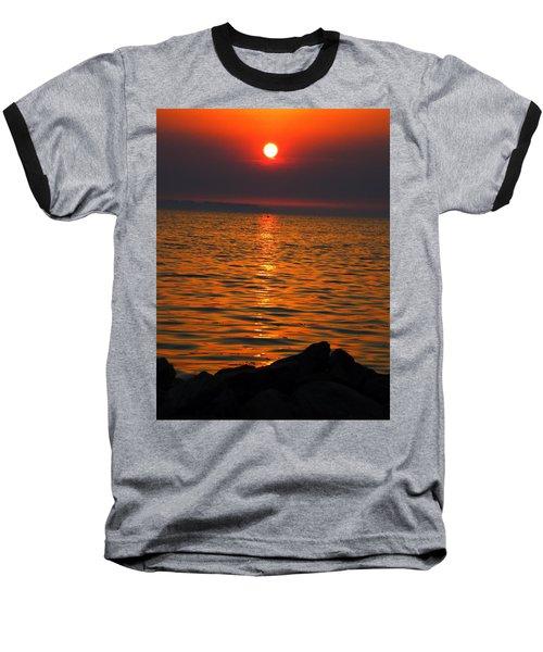 Baseball T-Shirt featuring the photograph Sunset by Colette V Hera  Guggenheim