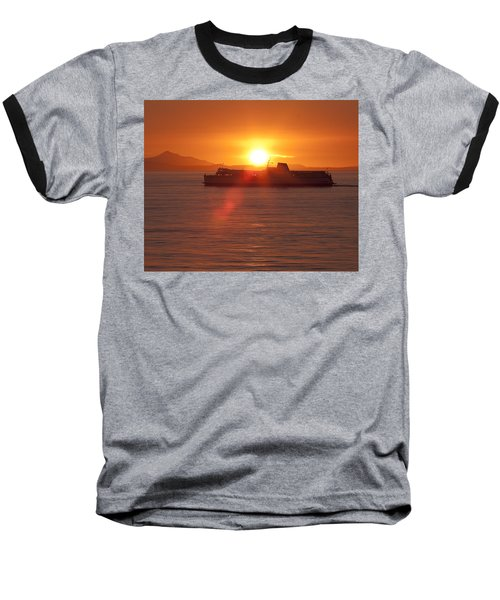 Baseball T-Shirt featuring the photograph Sunset by Eunice Gibb