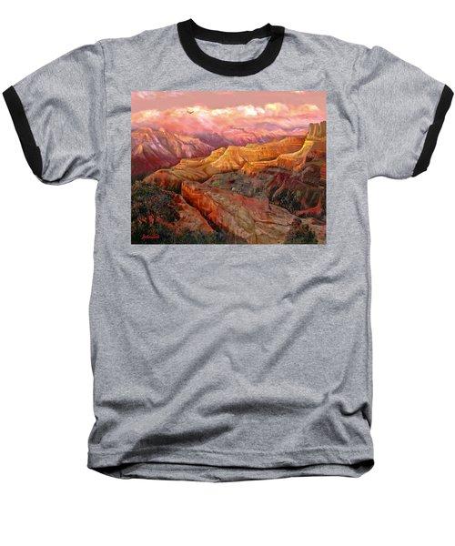 Sunset Grand Canyon Baseball T-Shirt